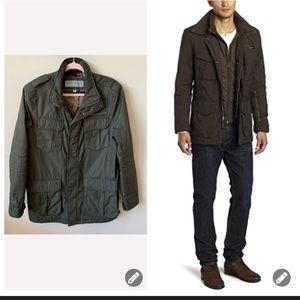 Marc New York men's zip up mock neck jacket #737